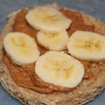 peanut butter and bananas