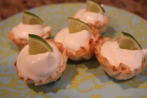 Mini Key Lime Bites
