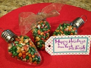 Colored Popcorn Holiday Gift