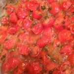 pasta fall back tomatoes cooking