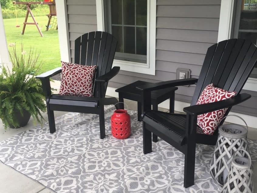 Creating a Comfy Cozy Porch Space