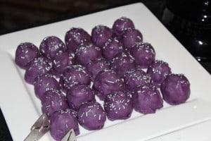 purple truffles