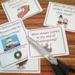 thanksgiving riddle cards cut