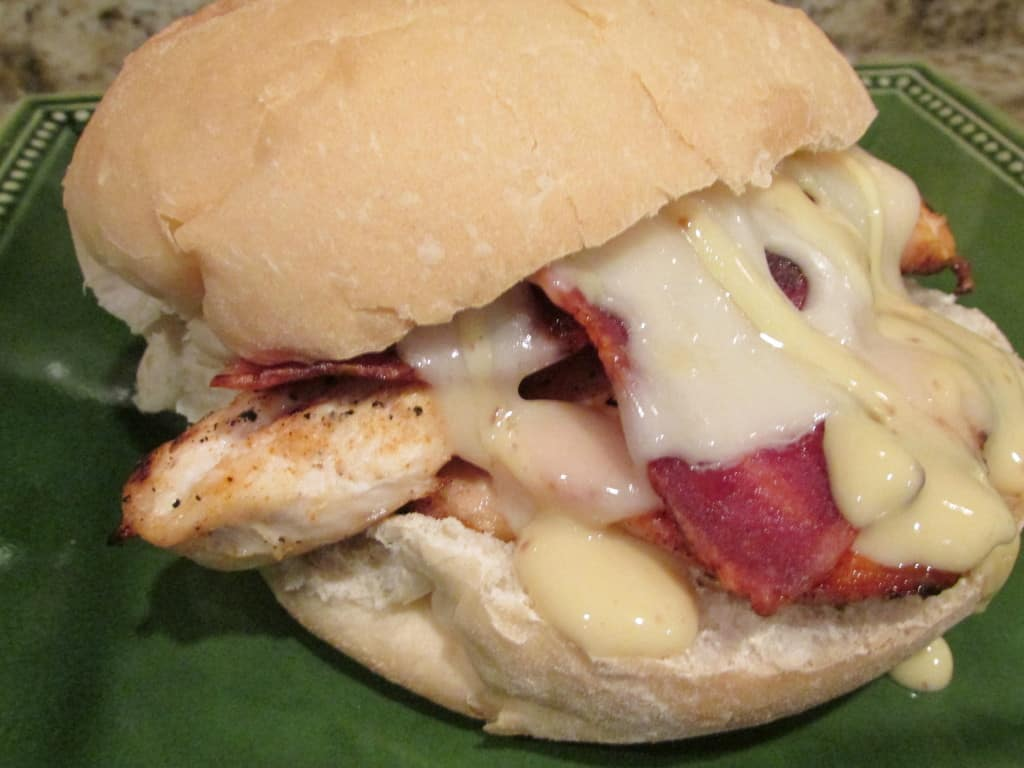 chicken bacon sandwich