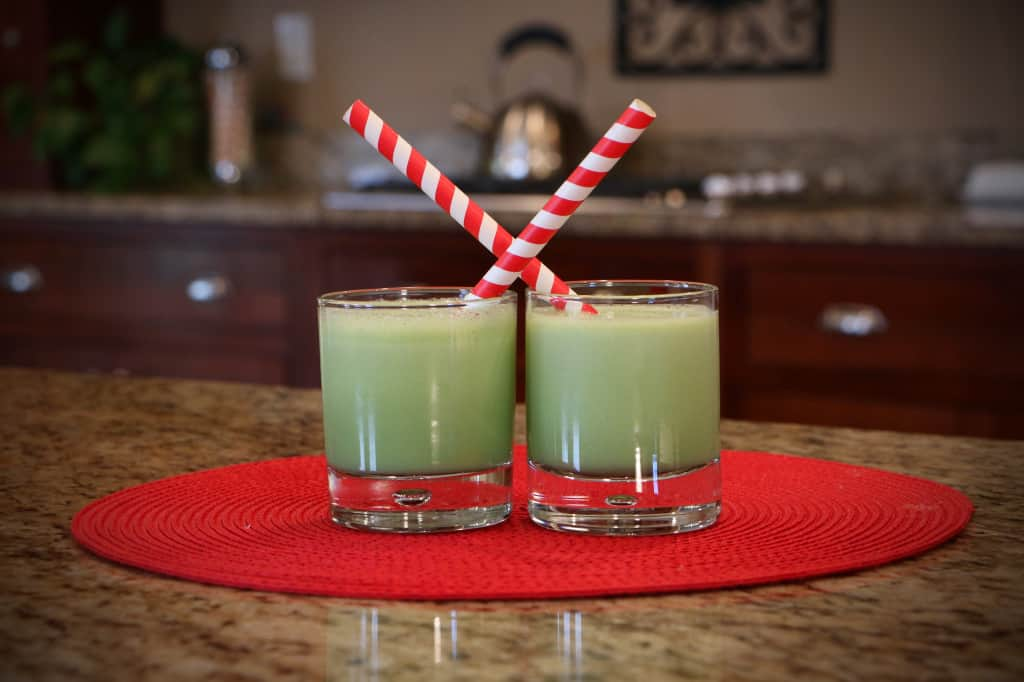 The Grinch Smoothie Fun