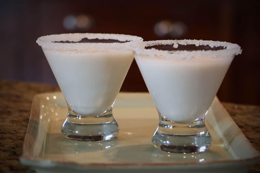 snow capped martini