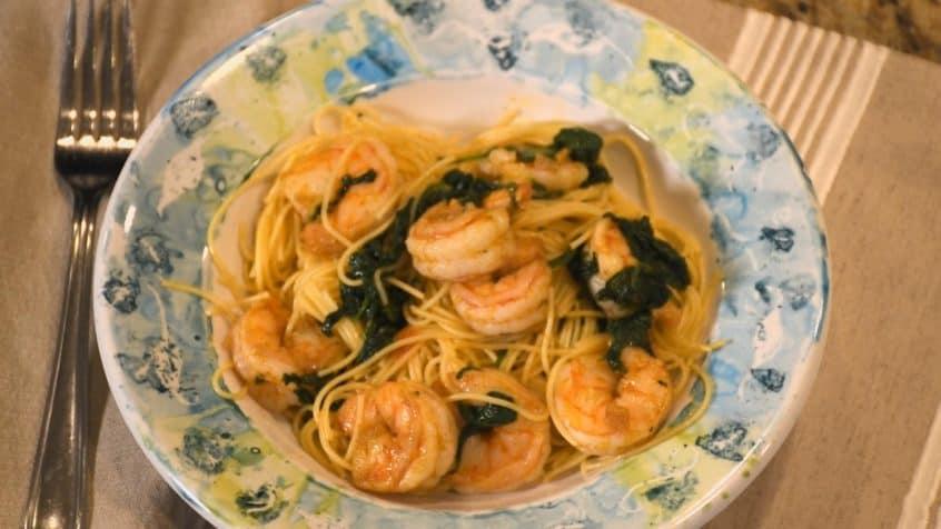 Shrimp & Angel Hair Pasta