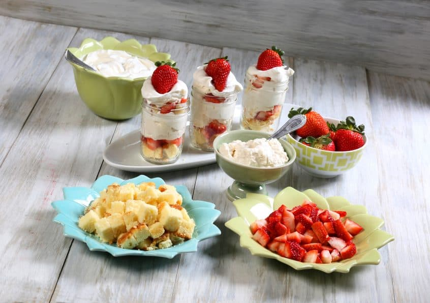 Mini Cheesecake Trifles