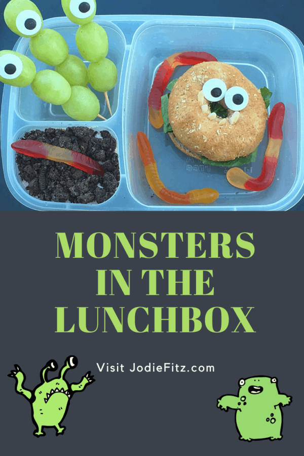Halloween lunch ideas, Monsters in the lunchbox #halloween #monsters #sandwichideas
