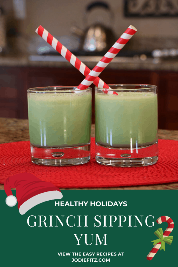 Looking for Grinch Food Ideas? Check out this shake! #Grinch #party #milkshake