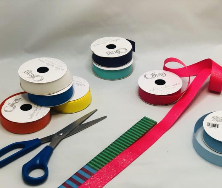 measuring ribbon for dancing ribbon rings