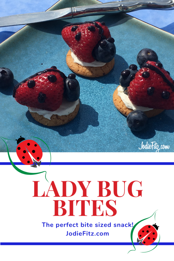 Making Strawberry Ladybug Snacks is Healthy Food Fun #kidsnacks #healthykidssnacks #healthydessert #classroomtreat