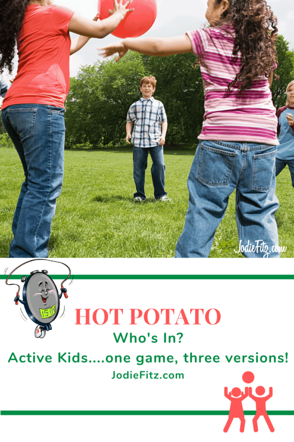 Hot Potato Game #activekids #familygames #fitkids
