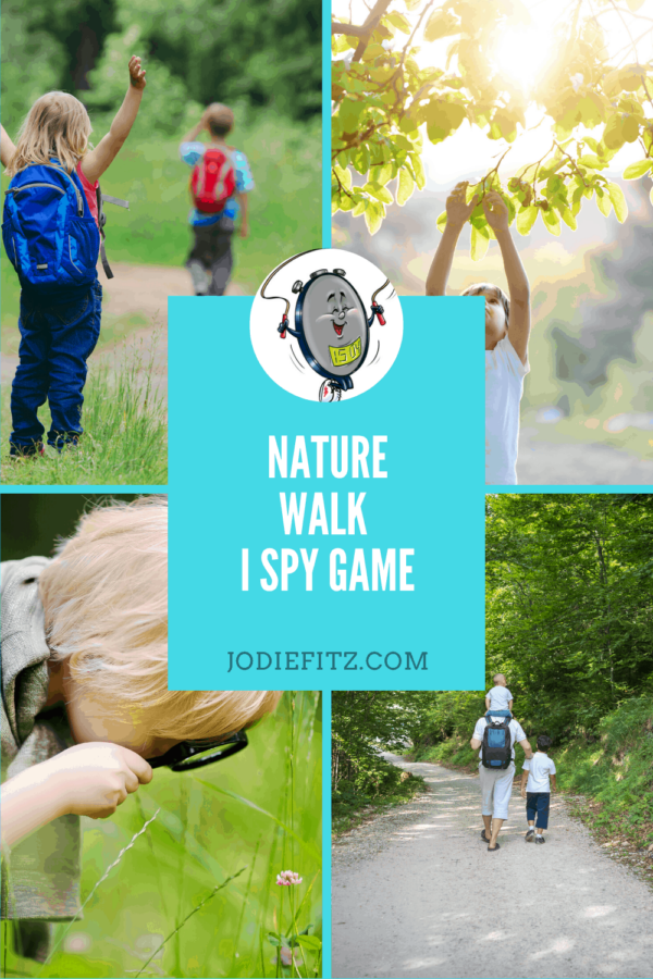 kid-friendly nature walk game #Ispy #kidfriendly #naturewalk #kidactivities