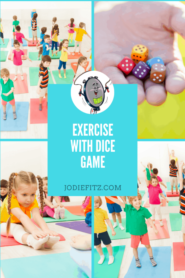 Exercise with Dice Game #exercise #kids #dicegame #activekids