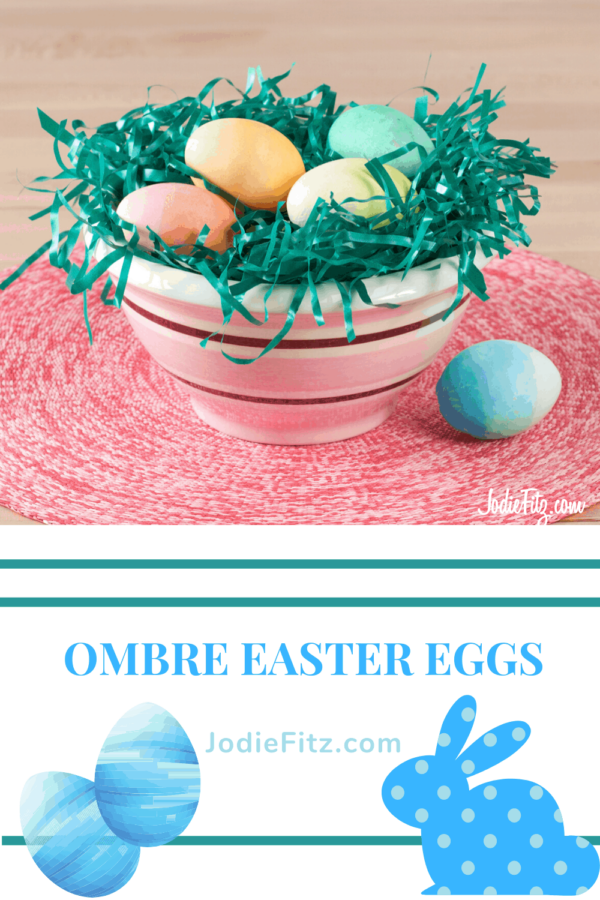 Ombre Easter Eggs #ombre #eastereggs #easter
