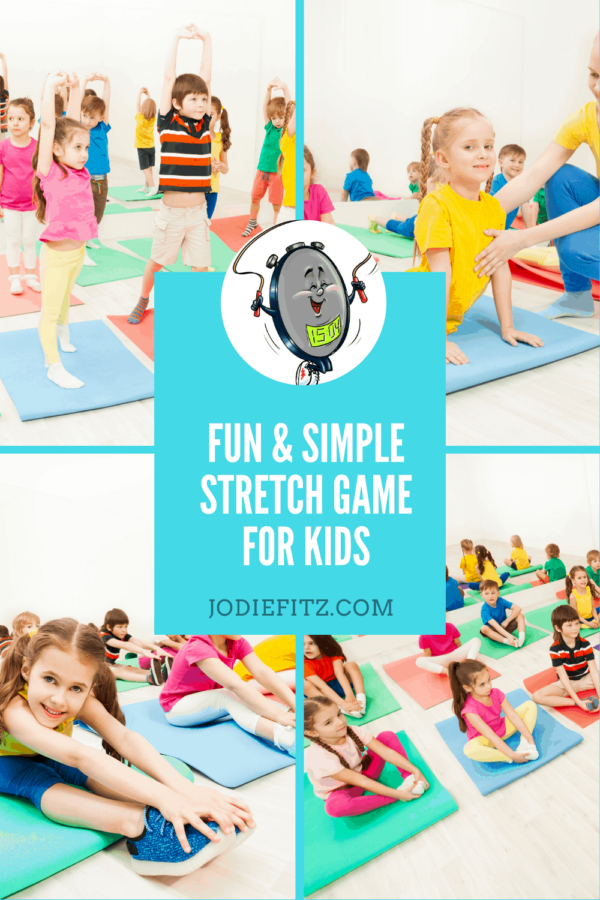 Fun and Simple Stretches for Kids #stretching #stretches #kids #games