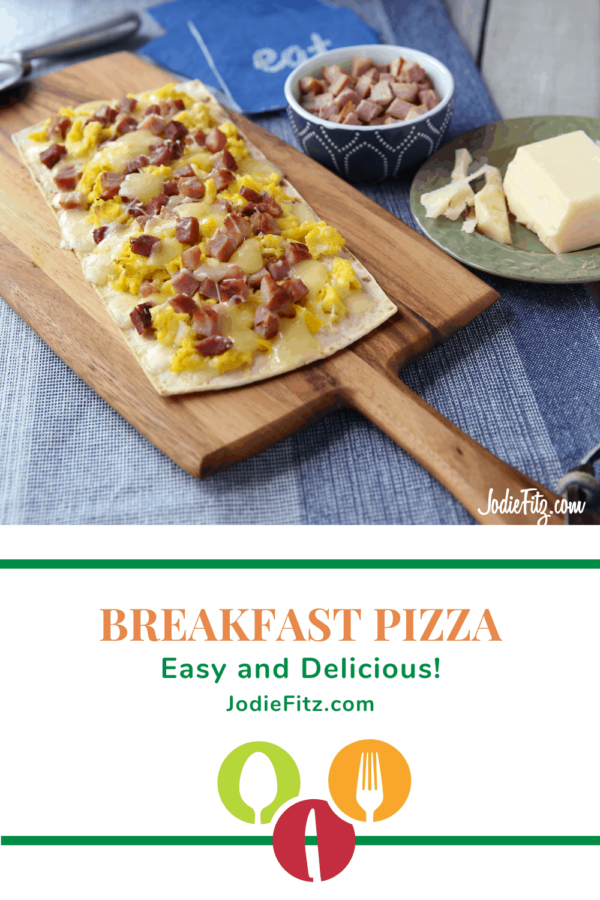 Easy Breakfast Pizza Recipe #easy #breakfast #pizza #recipe