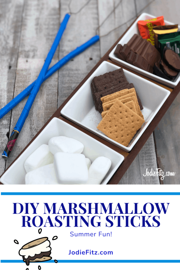 DIY Marshmallow Roasting Sticks #DIY #marshmallow #roasting #sticks #smores #smorerecipes #familyfun