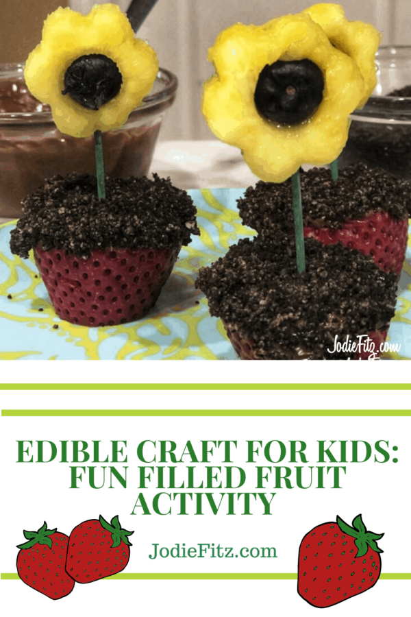 Edible Craft for Kids with Fruit #edible #craft #crafts #kids