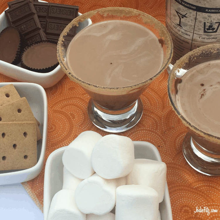 """Featured image for """"S'mores Martini Recipe"""""""